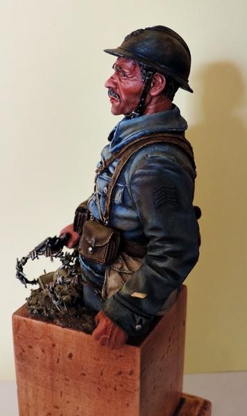 Buste de soldat français WW1 par Gabriel Dscn1016