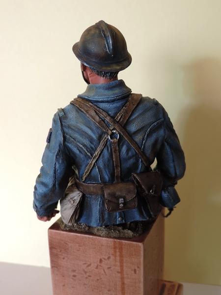 Buste de soldat français WW1 par Gabriel Dscn1017