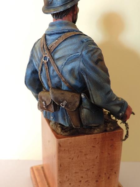Buste de soldat français WW1 par Gabriel Dscn1018