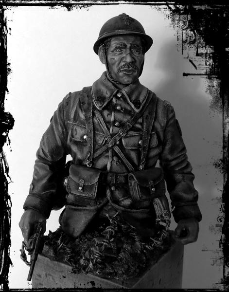 Buste de soldat français WW1 par Gabriel Dscn1020