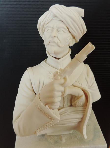 Buste de Mamluk par Gabriel Dscn1021