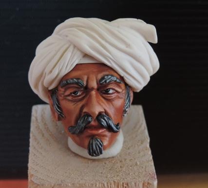 Buste de Mamluk par Gabriel Dscn1029