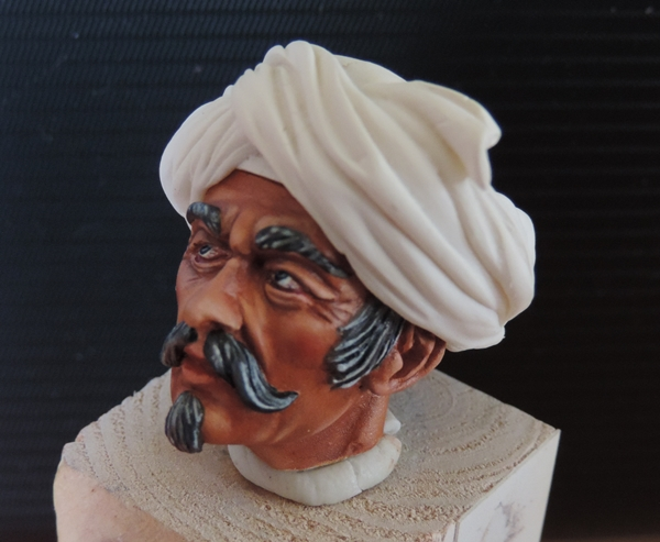 Buste de Mamluk par Gabriel Dscn1031