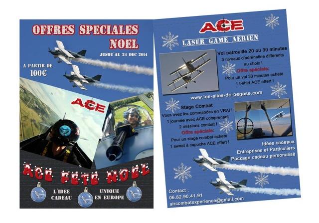 Offres spéciales Noel avec un Laser Game Aérien dans le ciel du Médoc 10384510