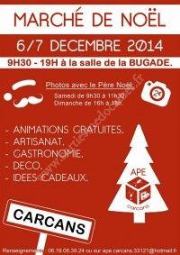 Marché de Noël le 6 et 7 Décembre 2014 à Carcans Maubuisson 1b795810