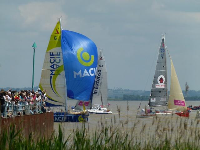 La Solitaire du Figaro de retour sur l'Estuaire et Pauillac P1150510