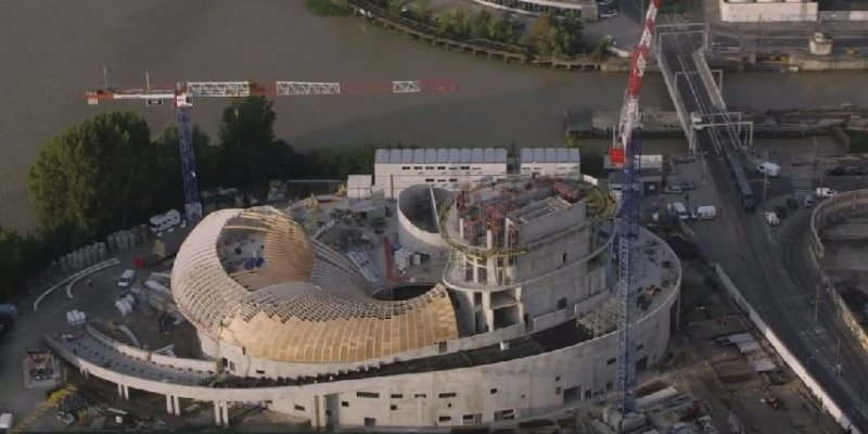 [Enfin visible sur Google Earth] - La Cité du Vin - Bordeaux - France 17339610