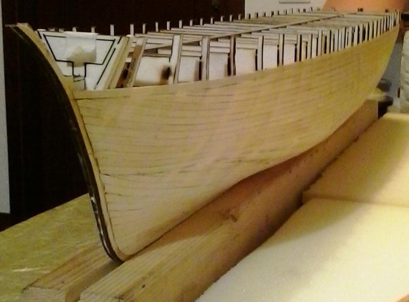 costruzione - costruzione di goletta, liberamente ispirata a piroscafo cannoniera del XIX secolo 20141110