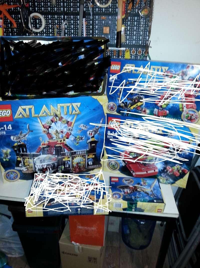 LEGO ATLANTIS----E VARI SUPER HEROES.. 20140910