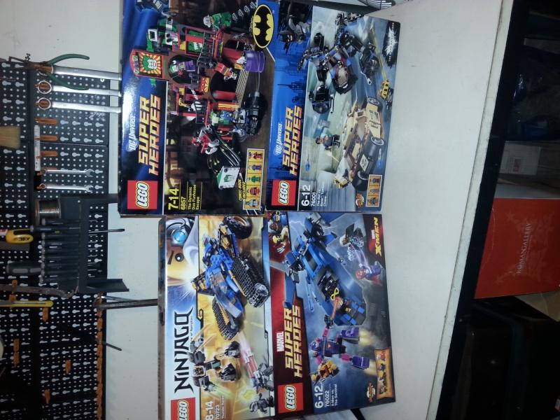LEGO ATLANTIS----E VARI SUPER HEROES.. 20141110