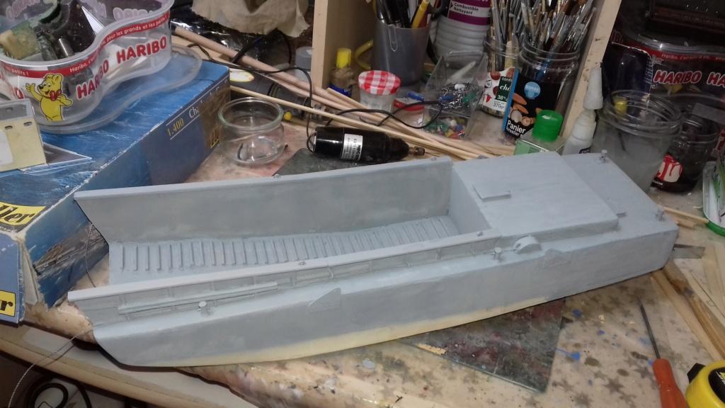 Barge débarquement US  LCM 1/35  - Page 2 1417