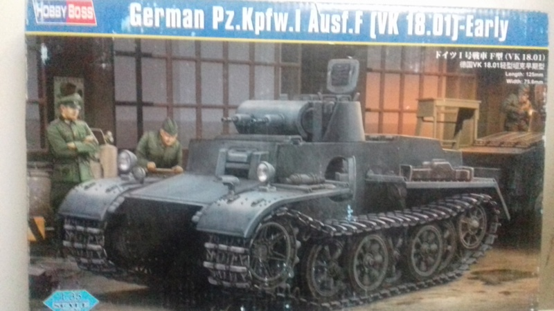 Char German  PZ.Kprw.I Ausf.f 142
