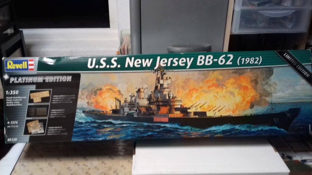 Cuirassé New Jersey BB-62 (Revell 1/350°) par andraud 13780 154