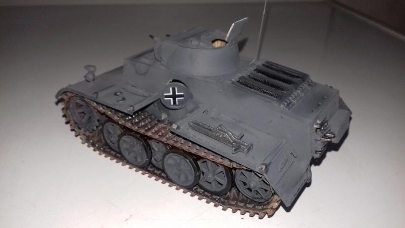 Char German  PZ.Kprw.I Ausf.f 1616