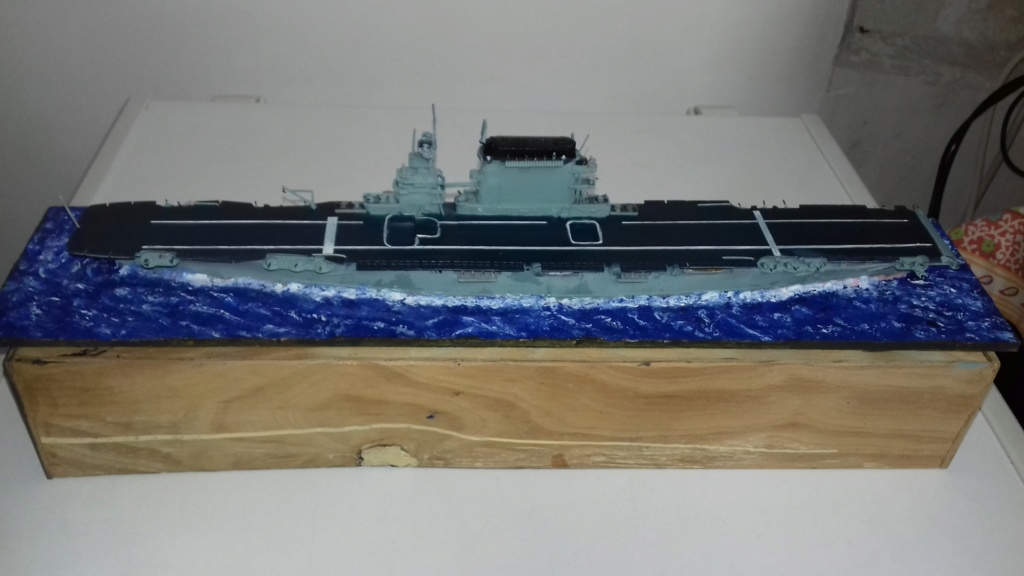 PORTE AVIONS USS LEXINGTON 05/1942  TRUMPETER  1/700 20181050