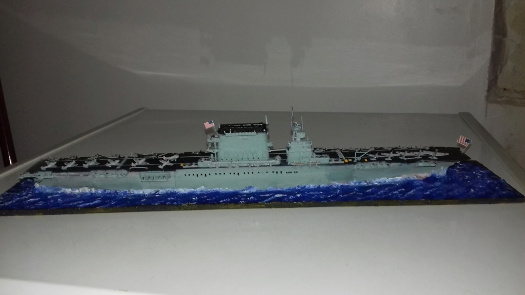 PORTE AVIONS USS LEXINGTON 05/1942  TRUMPETER  1/700 20181113