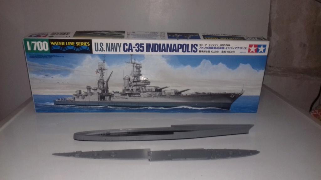 Croiseur lourd US CA-35 INDIANAPOLIS 1/700 20181210
