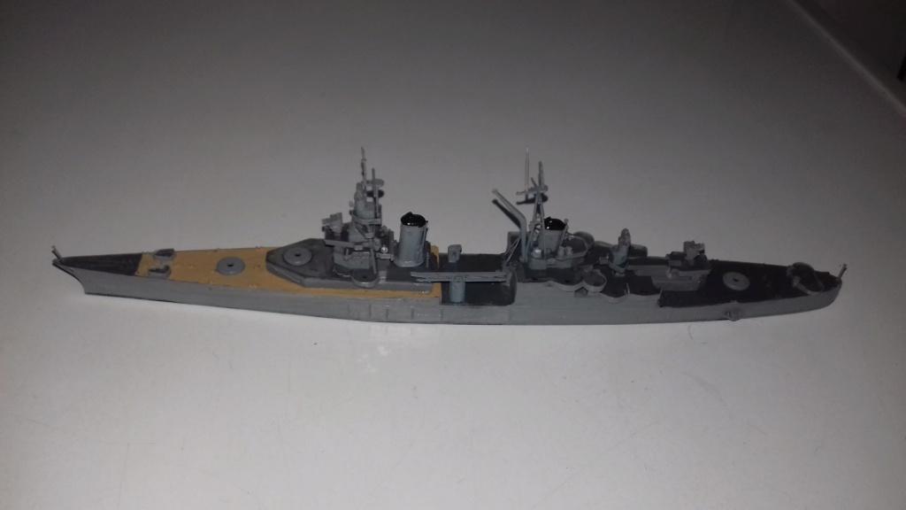 Croiseur lourd US CA-35 INDIANAPOLIS 1/700 20181220