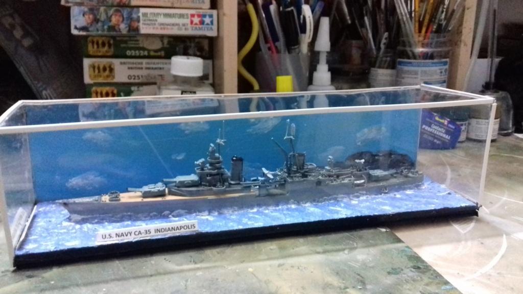 Croiseur lourd US CA-35 INDIANAPOLIS 1/700 20190112