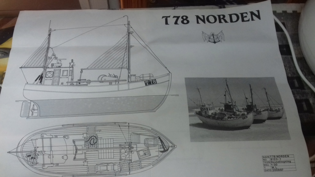 Chalutier le NORDEN T 78 316