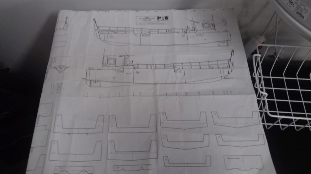 Barge débarquement US  LCM 1/35  318