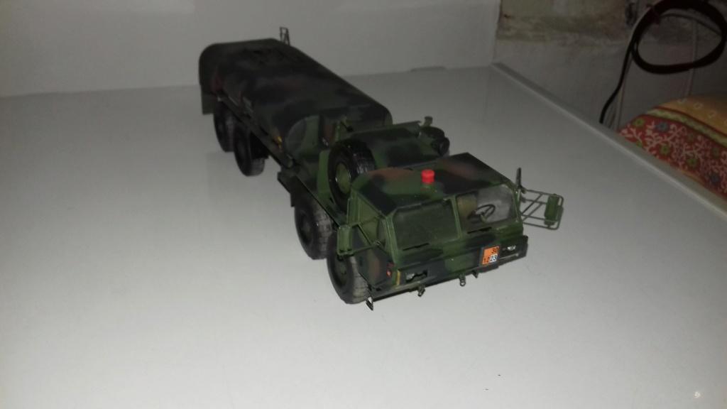 U.S. HEAVY FUEL TANKER  M-978  1/35 DE CHEZ ITALERI 3610