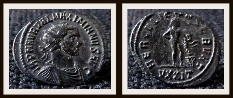 aurelianus - Maximien Hercule - Ticinium Maximi14