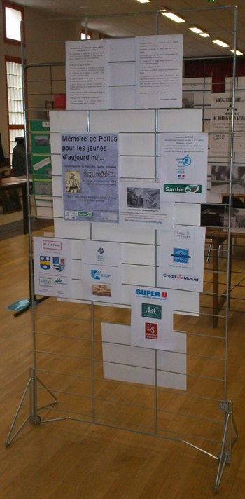 Exposition sur la Grande Guerre dans la Sarthe, du 11 au 21 novembre 2014 101_6513