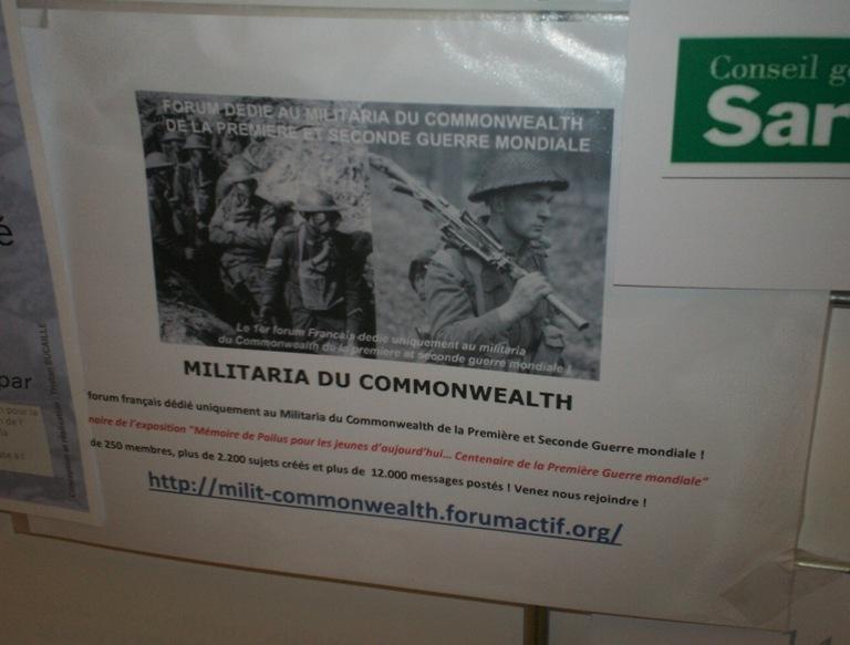 Exposition sur la Grande Guerre dans la Sarthe, du 11 au 21 novembre 2014 101_6514