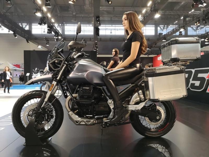 Le retour du trail chez Moto Guzzi : V 85 TT A222