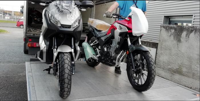 Honda CB 500 X 2019 : le juste équilibre. B510