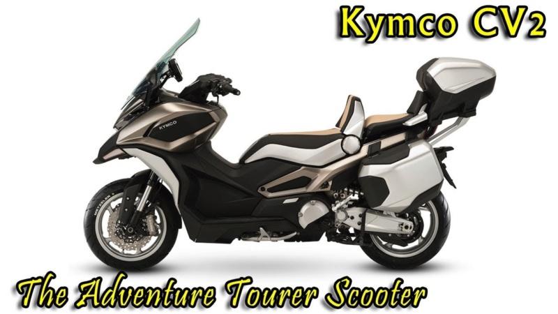 Le Kymco CV3 a fait son apparition sur le site officiel de la marque. Enfin ! - Page 2 Kcv310