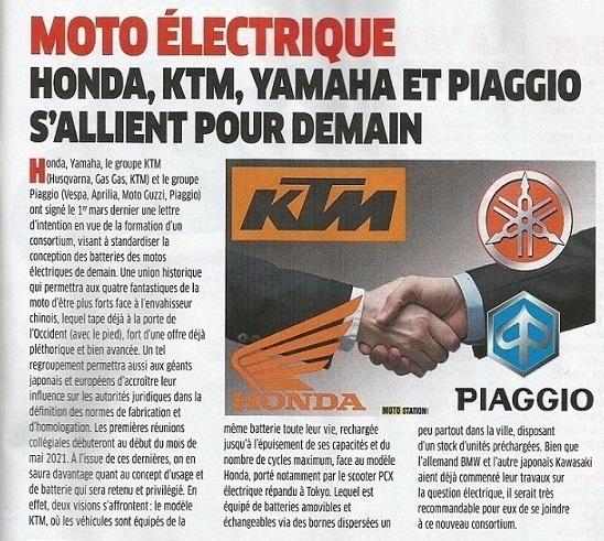 Moto électrique : des constructeurs s'allient pour demain Numzor28
