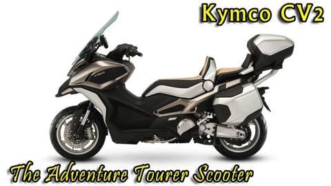 Kymco : le CV3 est enfin là Kcv310