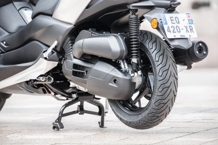 Problème d'amortisseurs Tricity 2018 Yamaha11