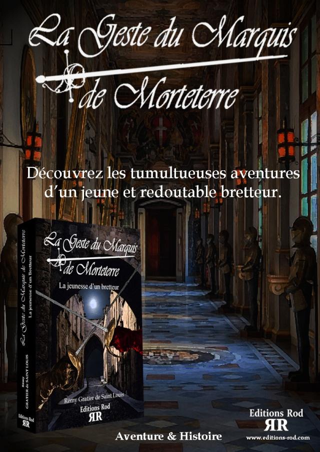 LA JEUNESSE D'UN BRETTEUR [ Editions Rod ] Affich12
