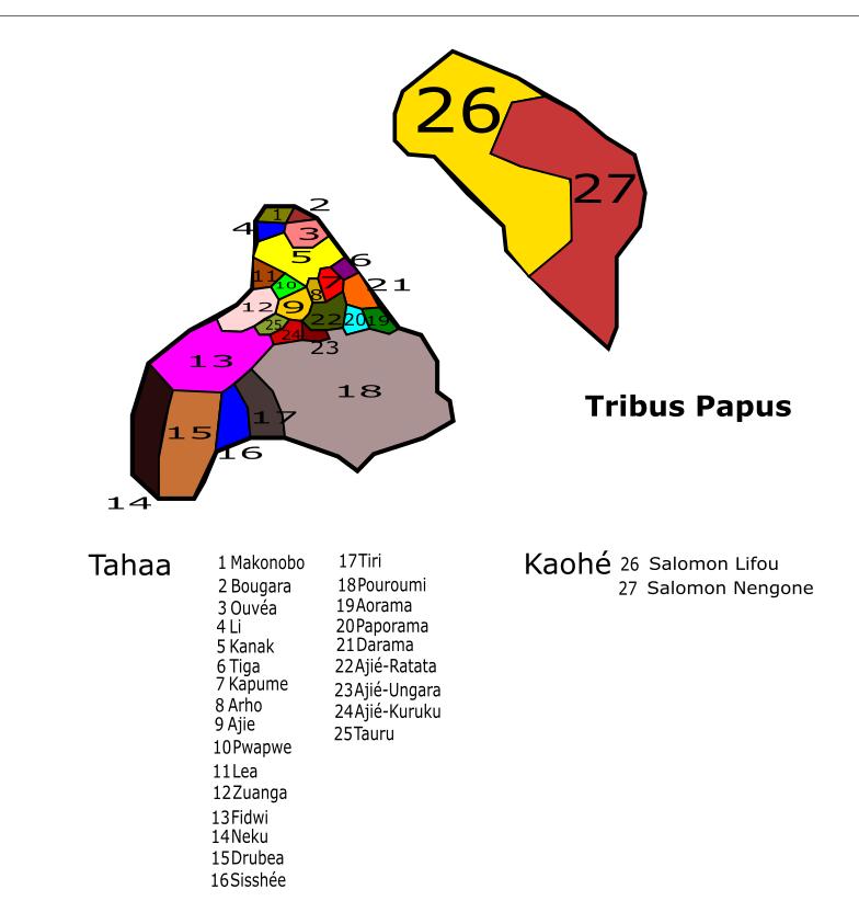 Royaume de Mapete/Pule'anga Fakatu'i 'o Mapete - Page 24 Tribus11