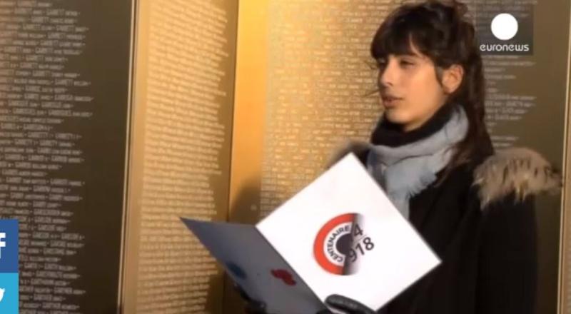"""L'ANNEAU DE LA MEMOIRE""""MEMORIAL NORD PAS DE CALAIS  11.11.14 Fff10"""