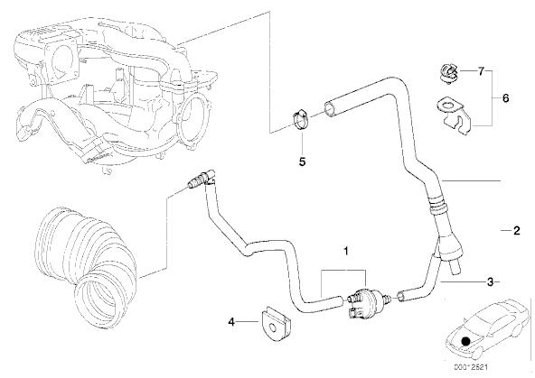 [BMW 316i E46] Voiture siffle à chaud et ralenti irrégulier 1510