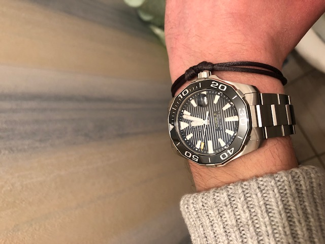 [Vends] Bracelet acier TAG HEUER aquaracer 41 mm Img_0213