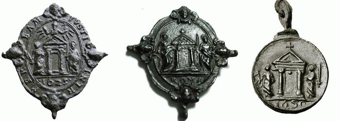Madonna di Montesanto / Puerta Santa con los SS Pedro y Pablo S-XVII (R.M. SXVII-O358) 1625310
