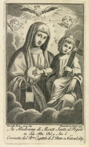 Madonna di Montesanto / Puerta Santa con los SS Pedro y Pablo S-XVII (R.M. SXVII-O358) Montes10