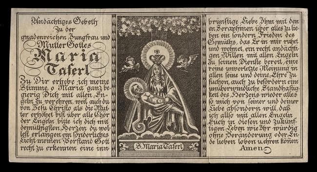Virgen de Mariazell y Santa María Taferl S-XVIII (R.M. SXVIII-Ot11)(MAM) Taferl10