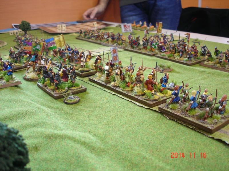 Chevauchée des Dragons de Vaires 2014: La bataille de Maldon Dsc02813
