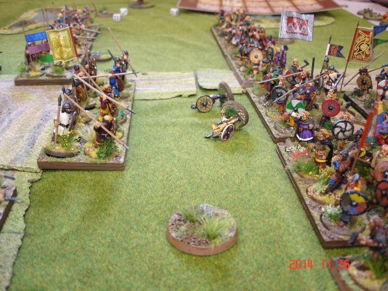 Chevauchée des Dragons de Vaires 2014: La bataille de Maldon Dsc02814