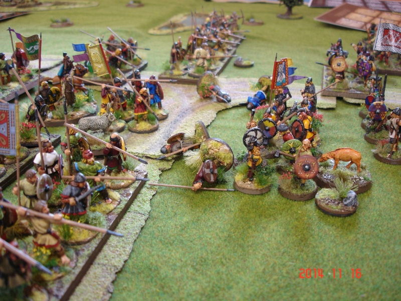 Chevauchée des Dragons de Vaires 2014: La bataille de Maldon Dsc02819
