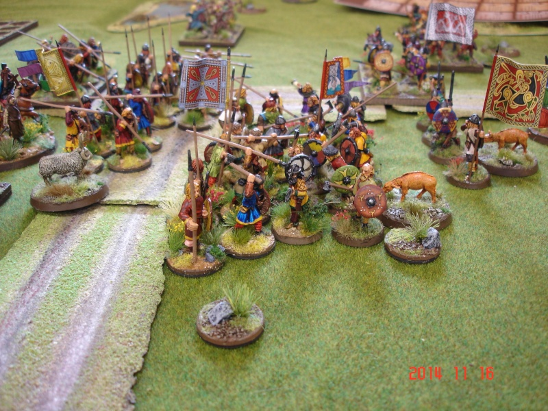 Chevauchée des Dragons de Vaires 2014: La bataille de Maldon Dsc02820