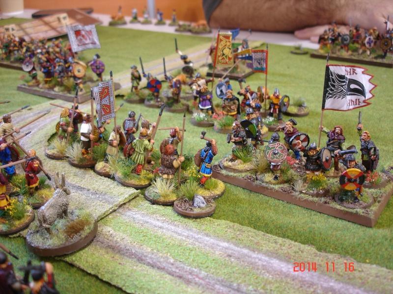Chevauchée des Dragons de Vaires 2014: La bataille de Maldon Dsc02823