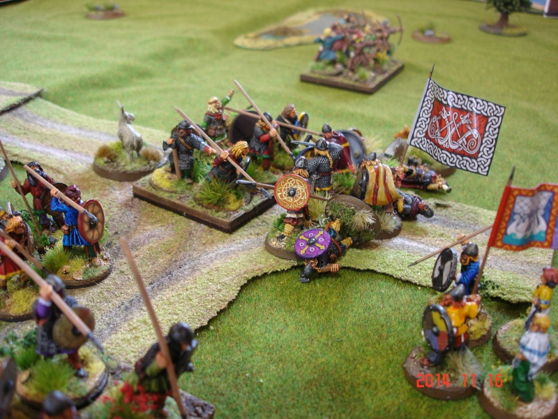 Chevauchée des Dragons de Vaires 2014: La bataille de Maldon Dsc02834