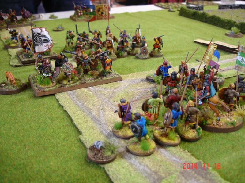 Chevauchée des Dragons de Vaires 2014: La bataille de Maldon Dsc02846